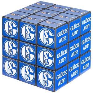 FC-Schalke-04-Zauberwuerfel-54-Felder-6cmx6cmx6cm-FC-Schalke-04-Logo-Cube-Puzzle