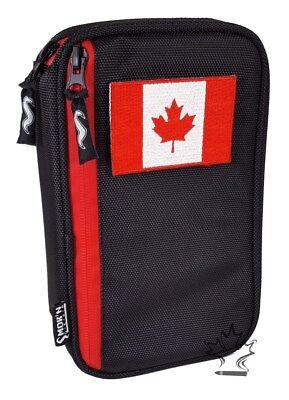 Black ~NEW~ Case Churchill Size Smok/'n Gear Cigar Travel Humidor