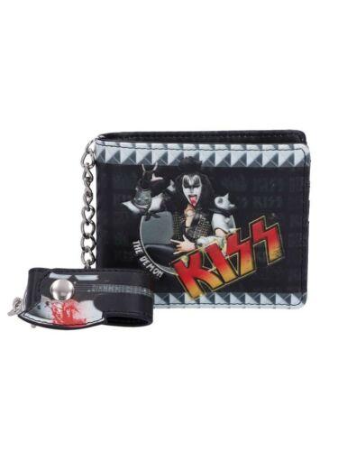 KISS The Demon Brieftasche Schwarz