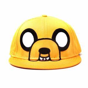 Adventure Time Personnage Jake Casquette De Baseball Réglable à L'arrière -
