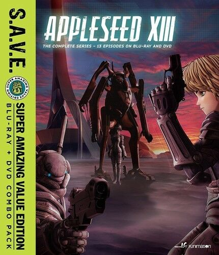 Appleseed XIII: The Complete Series - S.A.V.E. [New Blu-ray] With DVD, Boxed S
