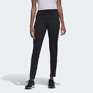 Adidas Women Cuffed Pants Slim Fit Athletics Essentials Logo Training S97160 New