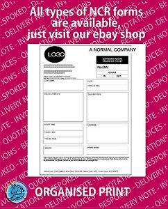 Details about Personalised NCR Waste Daybook Form A5, Duplicate Pads  printing