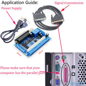 MACH3-CNC-5-Axis-Breakout-Board-Interface-For-CNC-Mill-Stepper-Motor-Driver-New
