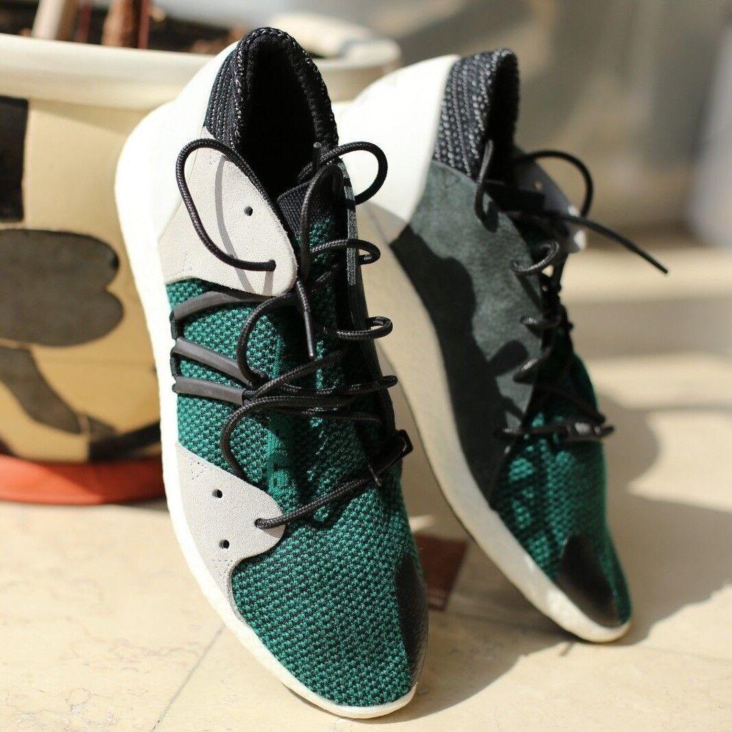 Nuevas zapatillas Adidas tamaño EQT, tamaño Adidas 11 UK, Verde/Negro/Blanco 830da2