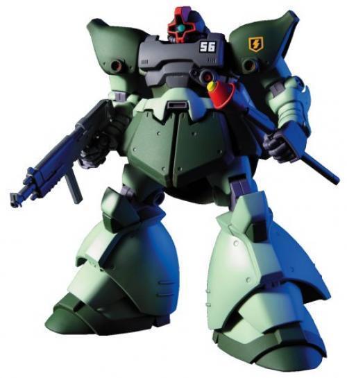 NEW BANDAI HGUC 1/144 MS-09-R2 RICK DOM II LIGHT GREEN Ver Model Kit Gundam 0080