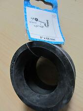 "Gummi Gewindenippel  1 1//2/"" x 32 mm Ablauf verbinder  Siphon Abgang  Dichtung"