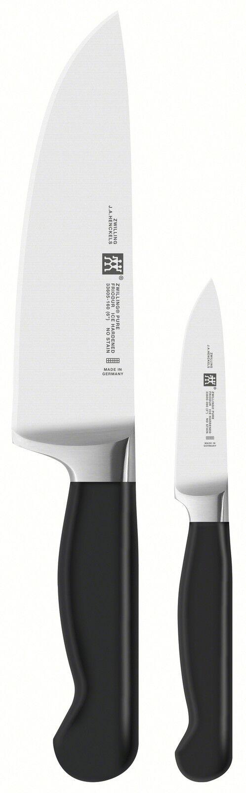 Zwilling pure set de couteaux 2 pièces solingen 160 mm déSouvert garniermesser 80 MM