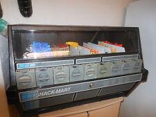 Snack-Mart Candy Chips Snacks Vending Machine Winnebago Illinois WORKS makes $$