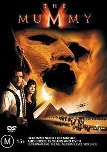 The-Mummy-DVD-2003-Brendan-Fraser-FREE-POST