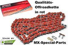 Rosso 520 Motocross Catena Ruota Moto Fuoristrada HONDA CRF 250 450 CR 125 250 5