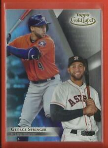 George-Springer-2018-Topps-Gold-Label-Class-1-Card-48-Houston-Astros-MLB
