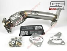 GrimmSpeed 05-09 Legacy GT UpPipe for 02-14 WRX STI //04-13 Forester XT Black