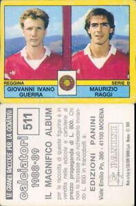 CALCIATORI PANINI 1988/89* FIGURINA STICKER N.511*VELINA ORIGINALE - Italia - CALCIATORI PANINI 1988/89* FIGURINA STICKER N.511*VELINA ORIGINALE - Italia