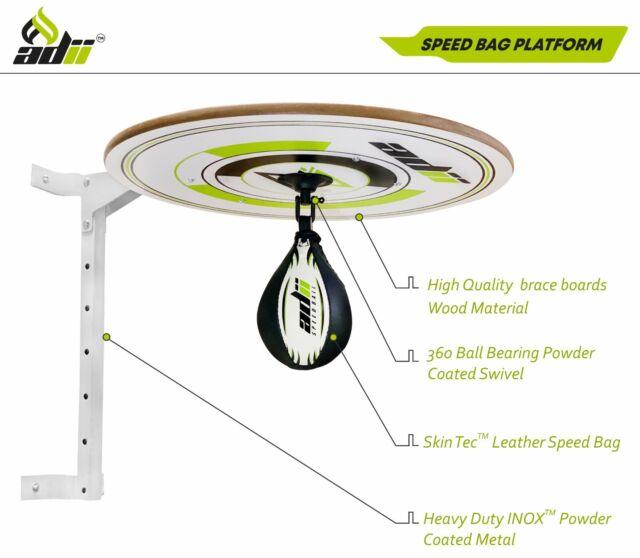 Fitex Speed ball Platform Swivel Bracket PunchBag Frame MMA Training Workout Stn