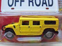 Johnny Lightning - Working Class - 2000 Hummer H1 Wagon (yellow) - 1/64 Diecast