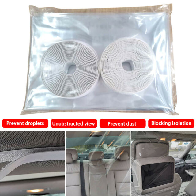 New Car Taxi Isolation Film Prevent droplets Full Surround Protective Cover Cab