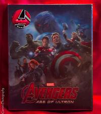 The Avengers 3D+2D Blu-ray Lenticular Steelbook Novamedia # 92 Limited Edition