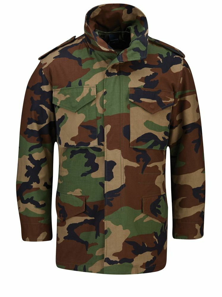 Propper M65 Field Coat with removeable quilted liner WOODLAND