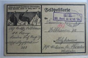 AK-Deutschland-Feldpostkarte-Feldpost-1916-gebraucht-PG636
