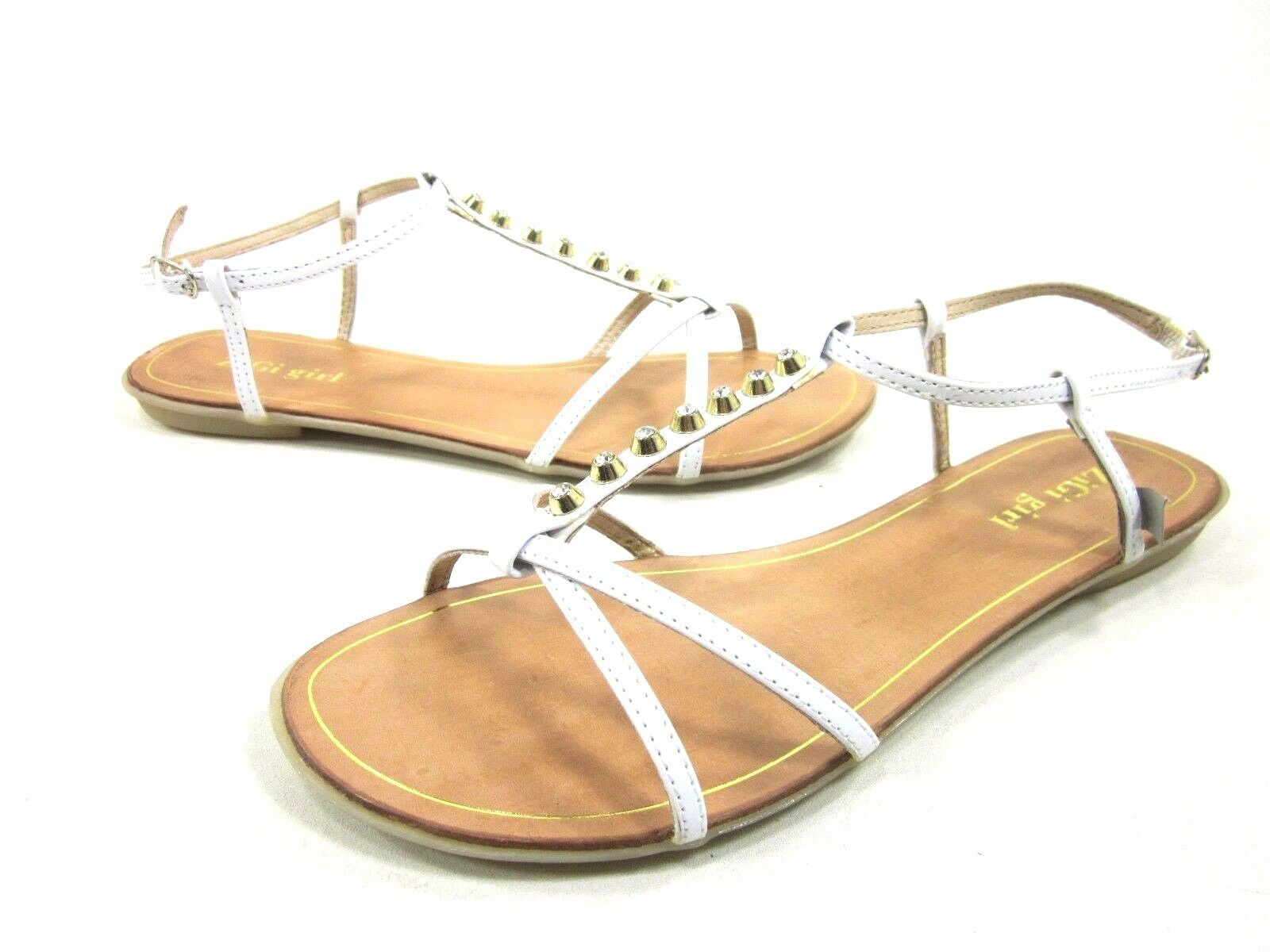 ZIGIny WOMEN'S ADORABLE FASHION CASUAL MEDIUM,NEW THONG SANDALS,WHITE FX,US MEDIUM,NEW CASUAL 0eede9