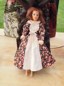 1975 Poupee Jody Ideal Doll De 23cm Avec Robe Originale Renforcement De La Taille Et Des Nerfs
