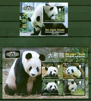 Montserrat 2010 - Großer Panda - Riesenpanda - Pandabär - 1528-31 + Block 132 Hochwertige Materialien