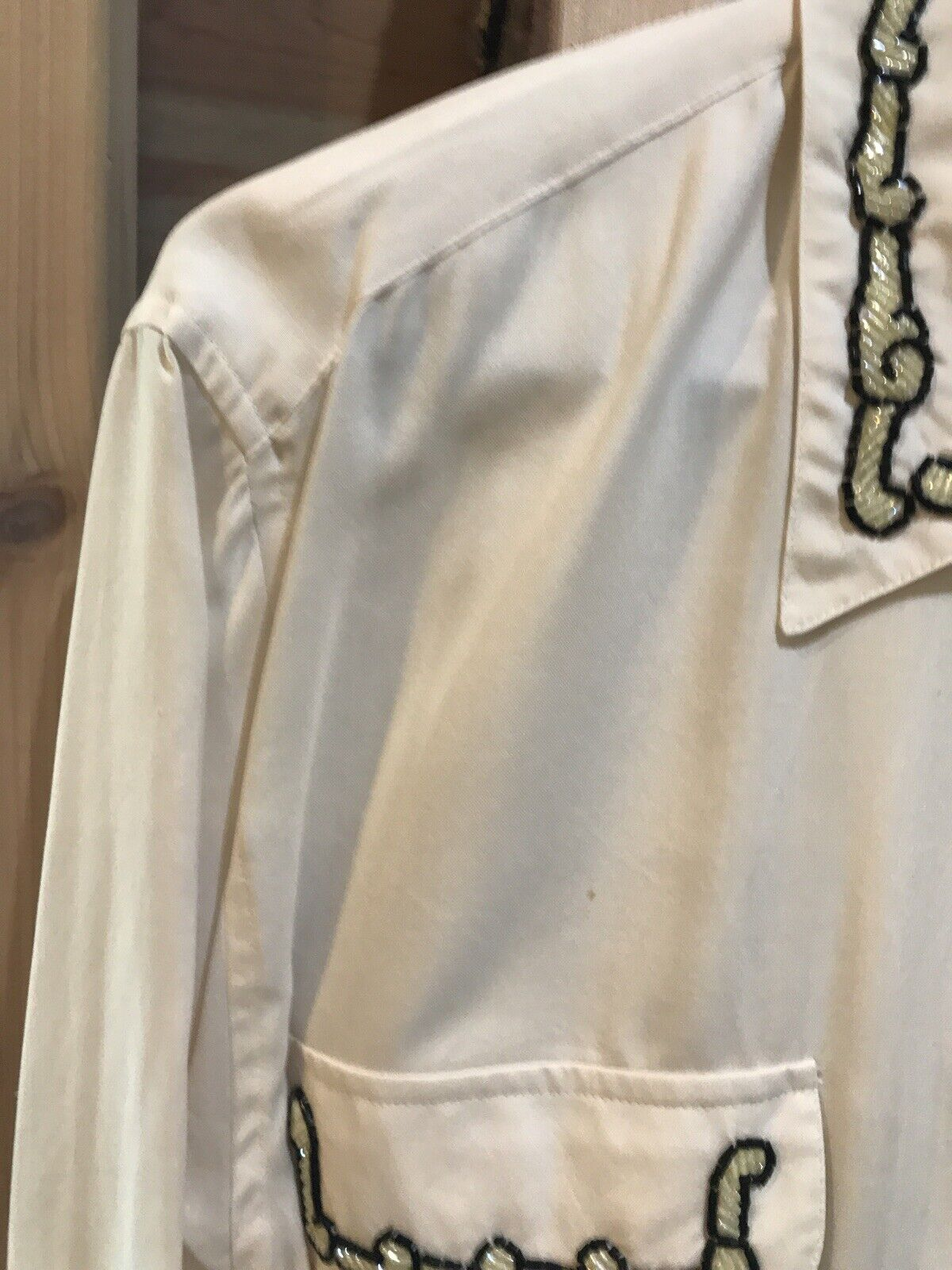 CE N'EST PAS UNCHAPEAU Women's Off White Blouse B… - image 6