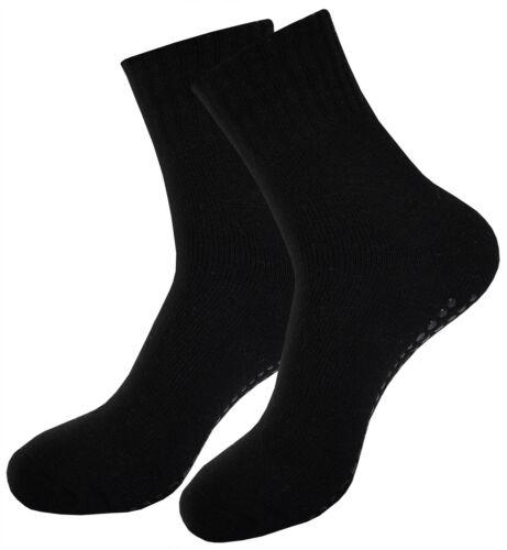 ABS Anti Rutsch Socken Noppensocken Stoppersocken mit Wolle für Damen /& Herren