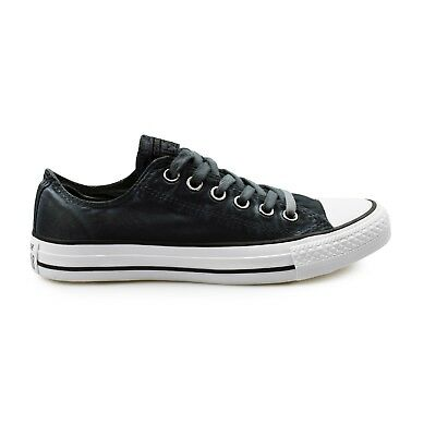 Converse Chuck Taylor All Star Ox Kent Wash Black Women's Trainers Clearance