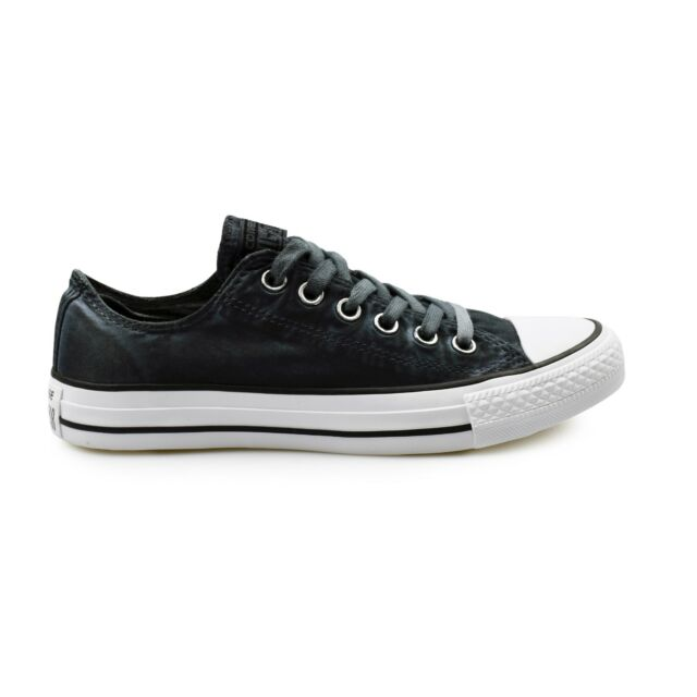 52186187bb6 Converse Chuck Taylor All Star Ox Kent Wash Black Women s Trainers Clearance