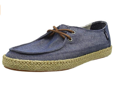 Vans Chaussures Rata Vulc Esp ChambrayBleu Mocassin Style Bateau Bleu Toile | eBay