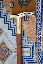 """WALKING CANE Wood & Smooth Handle 36"""" COMFY DERBY STICK~Vintage Victorian Style"""