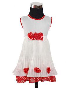 Vestiti Eleganti Da Bambina.Dettagli Su Nuovo Da Bambino Per Bambine Vestito Elegante In Rosso Blu Da 3 6 To 12 18 Mesi