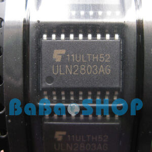 10pcs-ULN2803AG-ULN2803-ULN2803A-Circuit-Silicon-Monolithic-SMD-SOIC-18-TOSHIBA