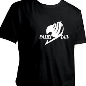Anime-Cartoon-Fairy-Tail-Symbol-Crew-Neck-Unisex-Short-Sleeve-T-Shirt-Size-XXL