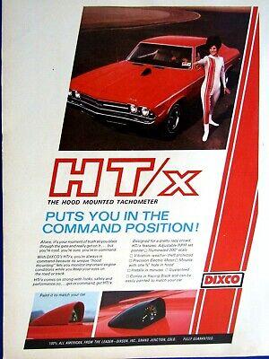 "1970 Chevrolet Chevelle Convertible 1999 Valvoline Original Print Ad  8.5 x 11 /"""