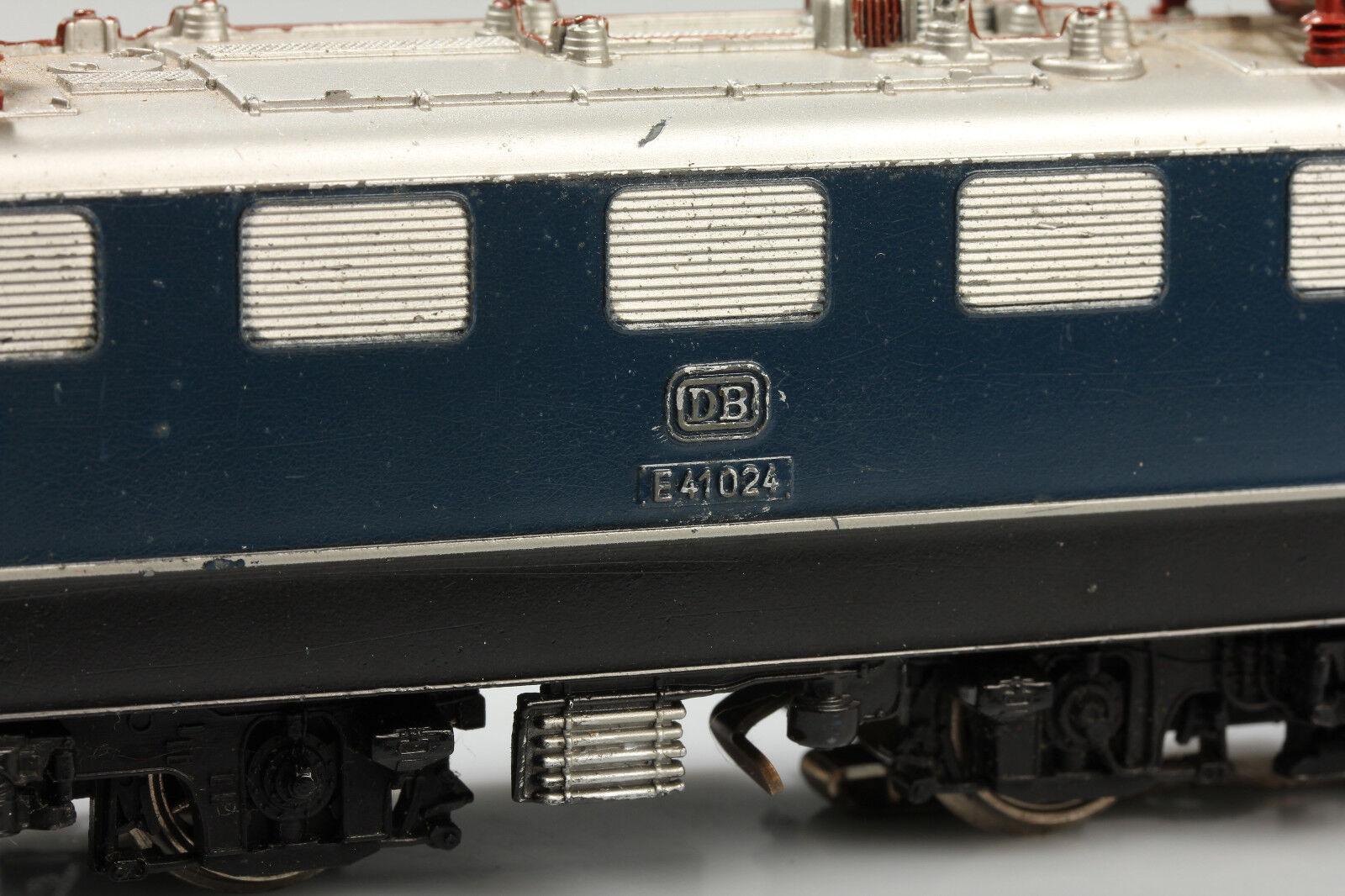 Marklin Marklin Marklin h0 classica bella 3034 DB e41 024 in corso vedere video sporco GRAFFI b780ab