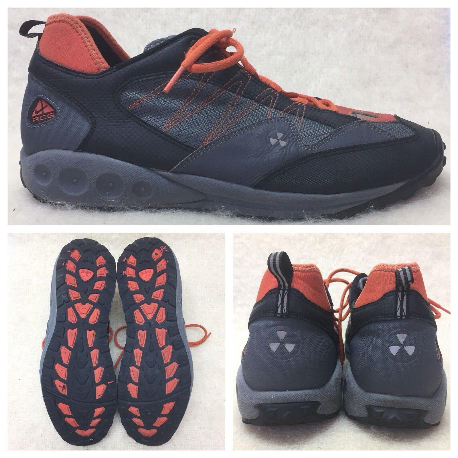 Nike ACG 990406 052 Mens Shoes Men 13 US Gray Orange