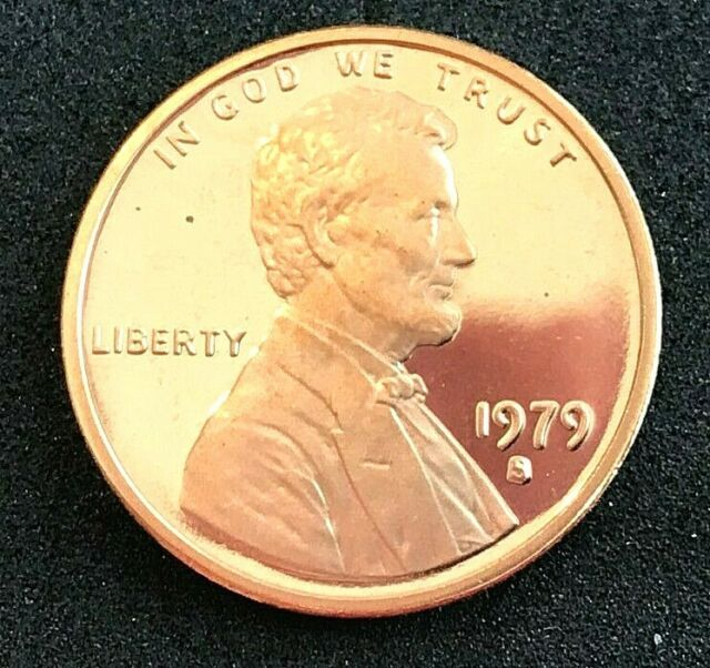1979-S *Type 2* Lincoln Memorial Penny ////  Gem Proof *DCAM* //// 1 Coin 1