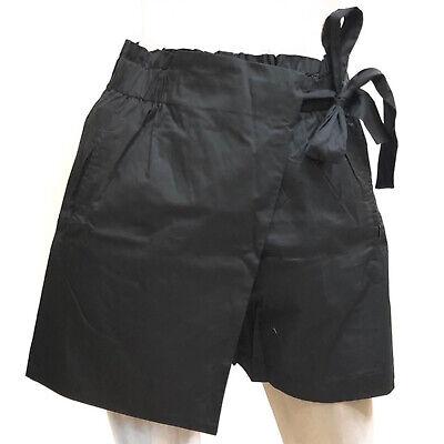 Molly Bracken Shorts Cotone Gonna Bermuda Vita Alta Nero Casual   eBay