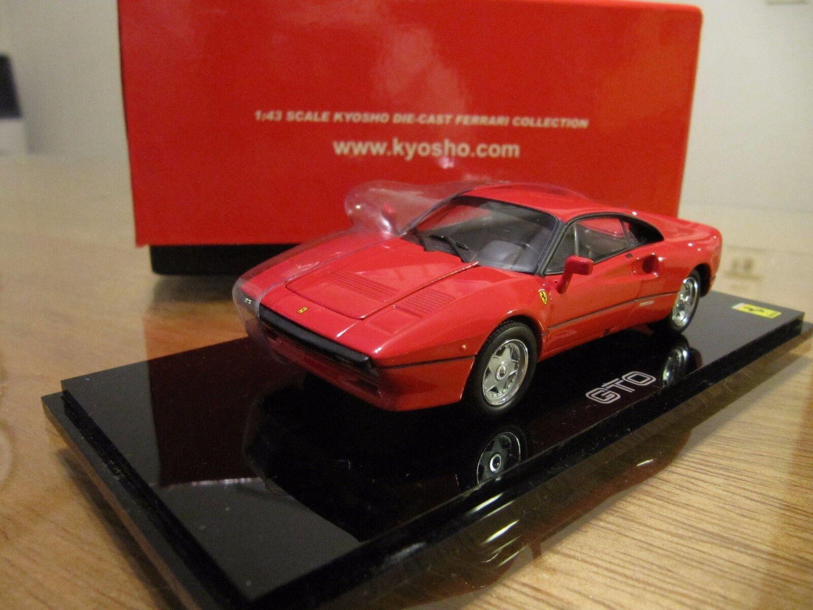 FERRARI 288 GTO rosso 1/43 KYOSHO 05071R