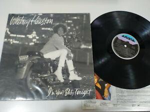 Whitney-Houston-I-M-Your-Baby-Tonight-1990-Spanisch-Edit-LP-vinyl-12-034-VG-VG