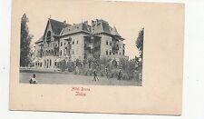 B77849 hotel bosna Ilidze bosnia scan front/back image