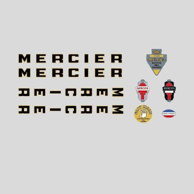Mercier Vélo Cadre autocollants - decals - Transferts N.03