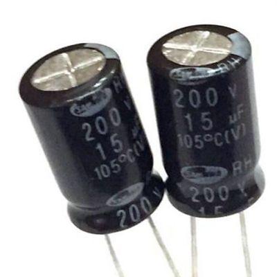 2PCS 200V 68uF 200Volt 68MFD Electrolytic Capacitor 13×20 Radial