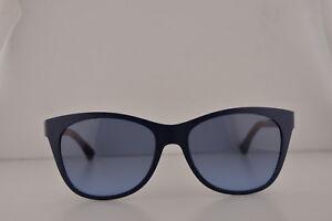 b918c07f8105 Emporio Armani EA4046 Sunglasses Matte Blue w Dark Blue Lens 51228F ...