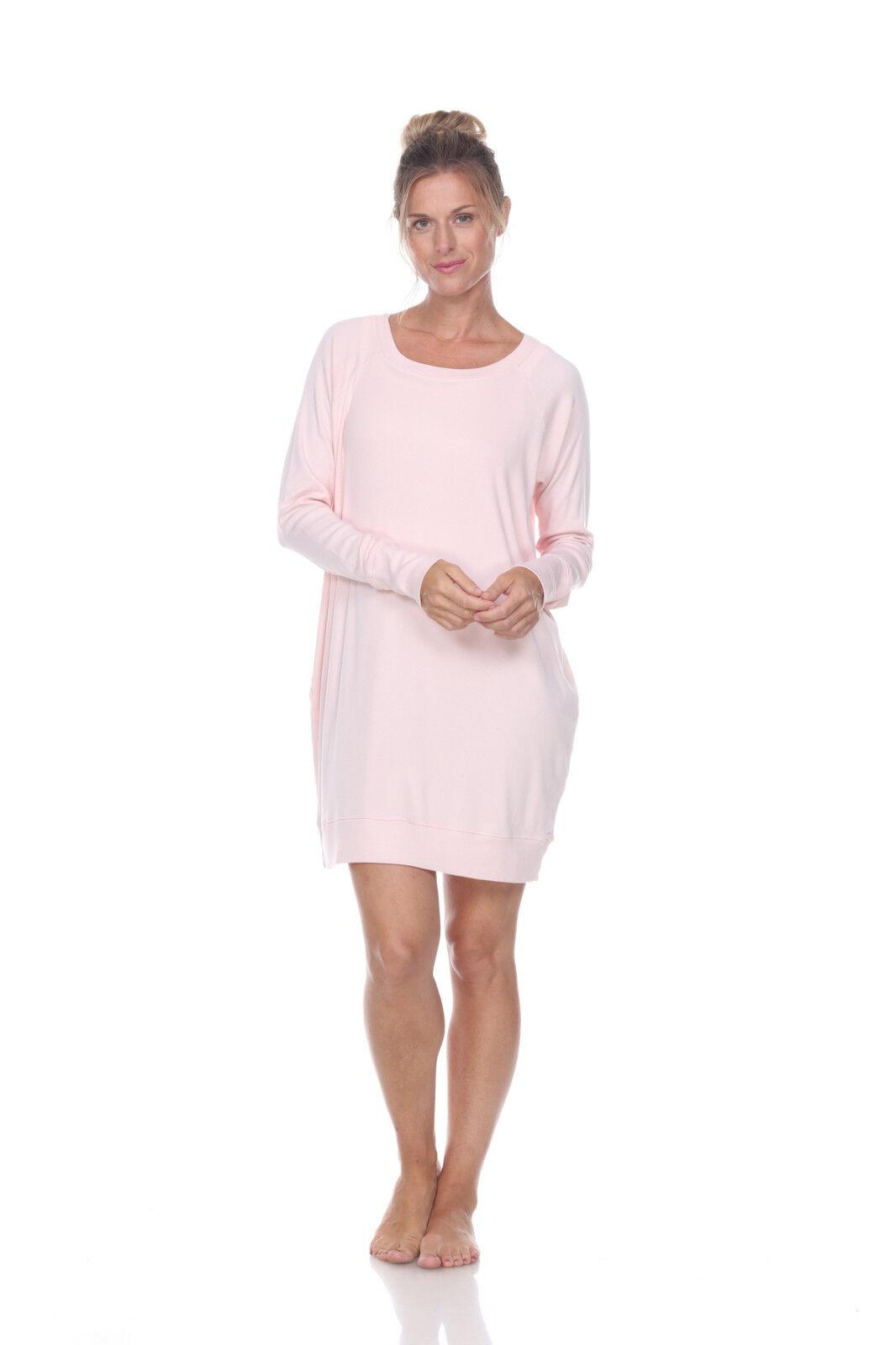 PJ Harlow Emily Long Sleeve Knit Sleep Shirt