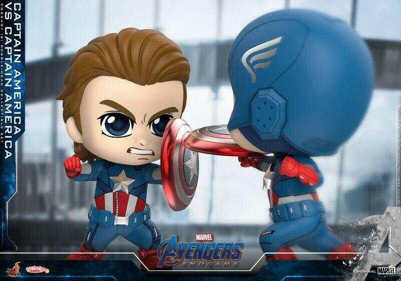 Hot Juguetes Cosbaby Capitán América Vs Capitán América Los Vengadores Tacho Artesanía 658 Juguete
