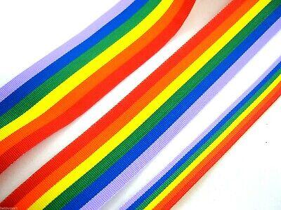 Orgullo Gay 25mm X 5m Arco iris de la cinta